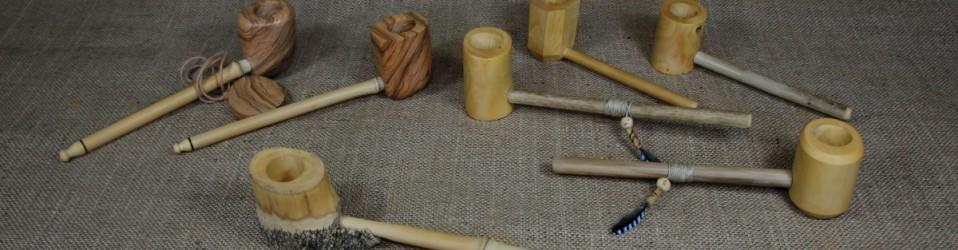Les dernières pipes de cérémonie d'inspiration amérindienne disponibles